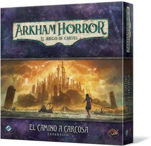 Juego de mesa de Arkham Horror de Fantasy Flight Games Expansión El Camino de Carcosa - Los mejores juegos de mesa de cartas de Arkham Horro - Juego de mesa de cartas