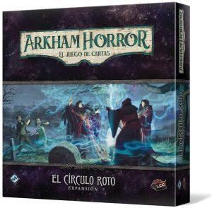 Juego de mesa de Arkham Horror de Fantasy Flight Games Expansión El círculo roto - Los mejores juegos de mesa de cartas de Arkham Horro - Juego de mesa de cartas