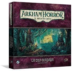Juego de mesa de Arkham Horror de Fantasy Flight Games Expansión La Era Olvidada - Los mejores juegos de mesa de cartas de Arkham Horro - Juego de mesa de cartas