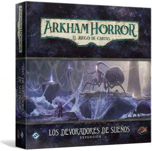 Juego de mesa de Arkham Horror de Fantasy Flight Games Expansión Los devoradores de sueños - Los mejores juegos de mesa de cartas de Arkham Horro - Juego de mesa de cartas