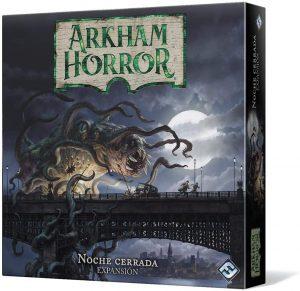 Juego de mesa de Arkham Horror de Fantasy Flight Games Expansión Noche Cerrada - Los mejores juegos de mesa de cartas de Arkham Horro - Juego de mesa de cartas