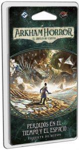 Juego de mesa de Arkham Horror de Fantasy Flight Games Expansión Paquete de Mitos de Perdidos En El Tiempo Y El Espacio