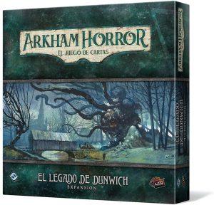 Juego de mesa de Arkham Horror de Fantasy Flight Games Expansión el Legado de Dunwich - Los mejores juegos de mesa de cartas de Arkham Horro - Juego de mesa de cartas