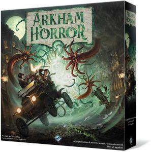 Juego de mesa de Arkham Horror de Fantasy Flight Games Tercera Edición - Los mejores juegos de mesa de cartas de Arkham Horro - Juego de mesa de cartas