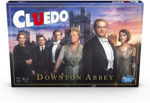 Juego de mesa de Cluedo Downton Abbey en inglés de Hasbro - Los mejores juegos de mesa del Cluedo - Juego de mesa de misterio de Cluedo