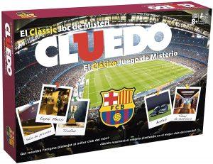 Juego de mesa de Cluedo FC Barcelona de Hasbro - Los mejores juegos de mesa del Cluedo - Juego de mesa de misterio de Cluedo