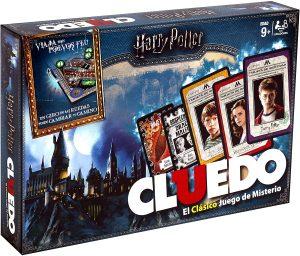 Juego de mesa de Cluedo Harry Potter de Hasbro - Los mejores juegos de mesa del Cluedo - Juego de mesa de misterio de Cluedo