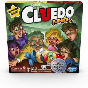 Juego de mesa de Cluedo Junior de Hasbro - Los mejores juegos de mesa del Cluedo - Juego de mesa de misterio de Cluedo