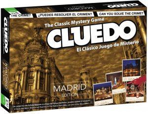 Juego de mesa de Cluedo Madrid de Hasbro - Los mejores juegos de mesa del Cluedo - Juego de mesa de misterio de Cluedo