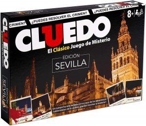 Juego de mesa de Cluedo Sevilla de Hasbro - Los mejores juegos de mesa del Cluedo - Juego de mesa de misterio de Cluedo