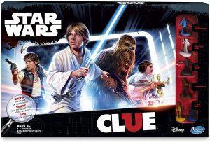 Juego de mesa de Cluedo Star Wars en inglés de Hasbro - Los mejores juegos de mesa del Cluedo - Juego de mesa de misterio de Cluedo