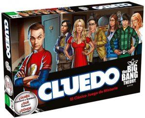 Juego de mesa de Cluedo The Big Bang Theory de Hasbro - Los mejores juegos de mesa del Cluedo - Juego de mesa de misterio de Cluedo