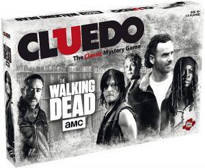 Juego de mesa de Cluedo Walking Dead en inglés de Hasbro - Los mejores juegos de mesa del Cluedo - Juego de mesa de misterio de Cluedo