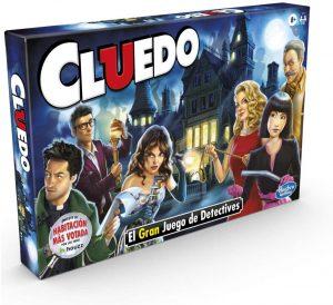 Juego de mesa de Cluedo clásico de Hasbro - Los mejores juegos de mesa del Cluedo - Juego de mesa de misterio de Cluedo