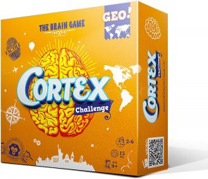 Juego de mesa de Cortex Challenge Geo de Hasbro - Los mejores juegos de mesa del Cortex - Juego de mesa de Cortex Challenge