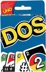 Juego de mesa de DOS clásico - Los mejores juegos de mesa del UNO - Juego de mesa de cartas, el UNO