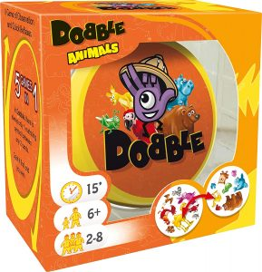 Juego de mesa de Dobble Animales en inglés 2 - Los mejores juegos de mesa del Dobble