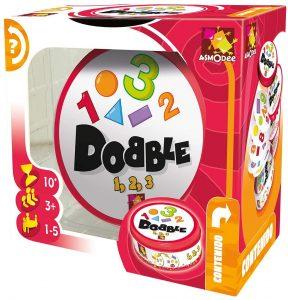 Juego de mesa de Dobble Formas y Números - Los mejores juegos de mesa del Dobble