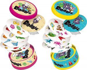 Juego de mesa de Dobble comida y cuentos - Los mejores juegos de mesa del Dobble