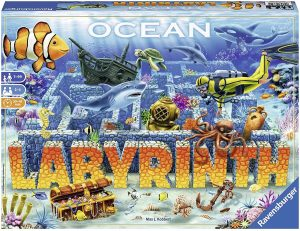 Juego de mesa de Laberinto Oceáno - Juego de mesa de Labyrinth Oceáno - Los mejores juegos de mesa del Laberinto - Labyrinth