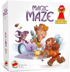 Juego de mesa de Magic Maze - Los mejores juegos de mesa del Laberinto - Labyrinth