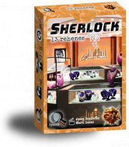 Juego de mesa de Sherlock Holmes de 13 Rehenes de GDM Games - Los mejores juegos de mesa de Sherlock Holmes