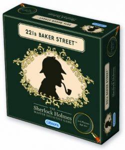 Juego de mesa de Sherlock Holmes de Baker Street de Gibsons Games en inglés - Los mejores juegos de mesa de Sherlock Holmes