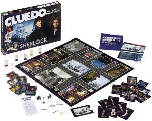Juego de mesa de Sherlock Holmes de Cluedo en inglés - Los mejores juegos de mesa de Sherlock Holmes