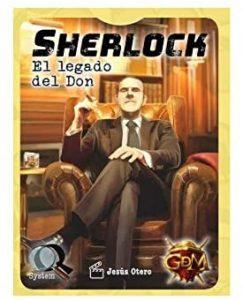 Juego de mesa de Sherlock Holmes de El Legado del Don de GDM Games - Los mejores juegos de mesa de Sherlock Holmes
