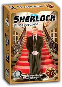 Juego de mesa de Sherlock Holmes de El Mayordomo de GDM Games - Los mejores juegos de mesa de Sherlock Holmes