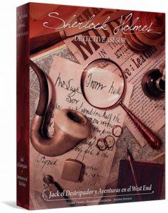 Juego de mesa de Sherlock Holmes de Jack el Destripador y Aventuras en el West End de Asmodee - Los mejores juegos de mesa de Sherlock Holmes