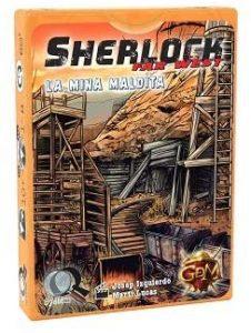 Juego de mesa de Sherlock Holmes de La Mina Maldita de GDM Games - Los mejores juegos de mesa de Sherlock Holmes