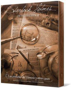 Juego de mesa de Sherlock Holmes de Los crímenes del Támesis y Otros Casos de Asmodee - Los mejores juegos de mesa de Sherlock Holmes