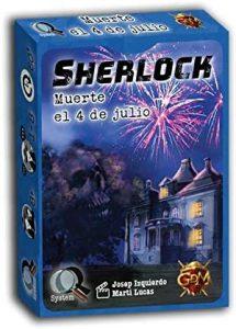 Juego de mesa de Sherlock Holmes de Muerte el 4 de Julio de GDM Games - Los mejores juegos de mesa de Sherlock Holmes