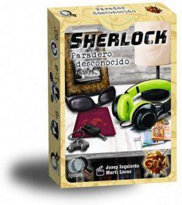 Juego de mesa de Sherlock Holmes de Paradero Desconocido de GDM Games - Los mejores juegos de mesa de Sherlock Holmes