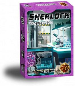 Juego de mesa de Sherlock Holmes de Propagación de GDM Games - Los mejores juegos de mesa de Sherlock Holmes