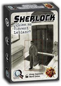Juego de mesa de Sherlock Holmes de Quien es Vincent Leblanc de GDM Games - Los mejores juegos de mesa de Sherlock Holmes