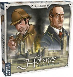 Juego de mesa de Sherlock Holmes de Sherlock and Mycroft de Devir - Los mejores juegos de mesa de Sherlock Holmes
