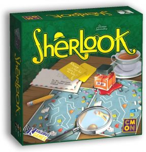 Juego de mesa de Sherlock Holmes de Sherlook - Los mejores juegos de mesa de Sherlock Holmes