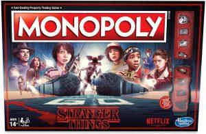 Juego de mesa de Stranger Things de Monopoly de Stranger Things en inglés - Los mejores juegos de mesa de Stranger Things