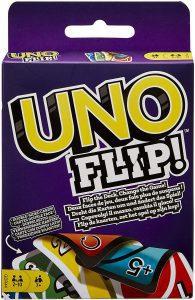 Juego de mesa de Uno FLIP - Los mejores juegos de mesa del UNO - Juego de mesa de cartas, el UNO