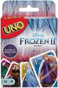 Juego de mesa de Uno Frozen II de Mattel - Los mejores juegos de mesa del UNO - Juego de mesa de cartas, el UNO