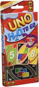 Juego de mesa de Uno H2O de Mattel - Los mejores juegos de mesa del UNO - Juego de mesa de cartas, el UNO