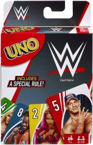 Juego de mesa de Uno WWE de Mattel - Los mejores juegos de mesa del UNO - Juego de mesa de cartas, el UNO