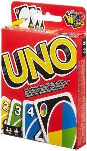 Juego de mesa de Uno clásico - Los mejores juegos de mesa del UNO - Juego de mesa de cartas, el UNO