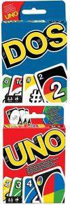 Juego de mesa de Uno y Dos - Los mejores juegos de mesa del UNO - Juego de mesa de cartas, el UNO
