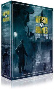 Juego de mesa de Watson & holmes de Ludonova - Los mejores juegos de mesa de Sherlock Holmes
