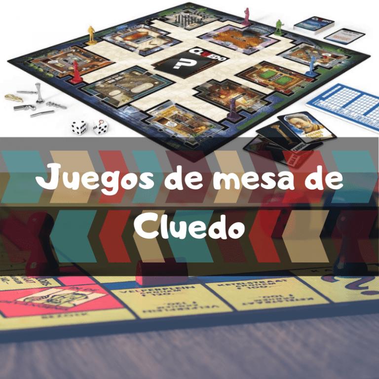 Los mejores juegos de mesa de Cluedo