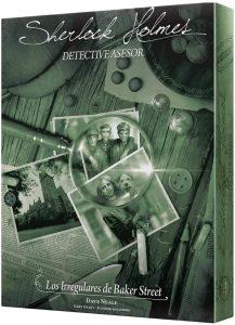 Juegos de mesa de Sherlock Holmes de Los Irregulares de Baker Street