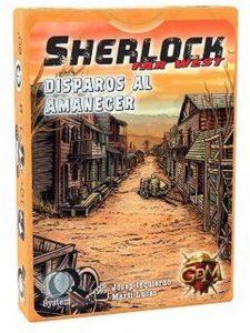 Juegos de mesa de Sherlock Holmes de investigación de Disparos al Amanecer